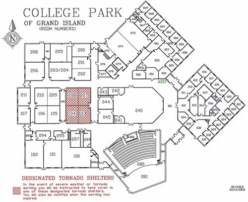 College Park Campus Map